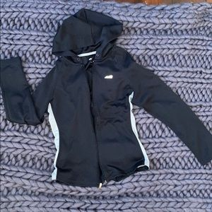 Avila hooded work out zip up